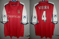 Shirt Arsenal 2000-2001-2002 Vieira France Jersey Vintage Trikot Premier League