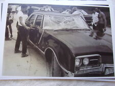 1969 TED KENNEDYS OLDSMOBILE SALVAGED FROM WATER  11 X 17  PHOTO   PICTURE
