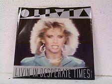 "OLIVIA NEWTON JOHN ""LIVIN IN DESPERATE TIMES / LANDSLIDE"" 45w/PS MINT"