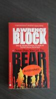 Some Days You Get the Bear by Lawrence Block 1994 SC SIGNED First Avon Edition
