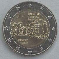 """2 Euro Malta 2016 """"Tempel von Ggantija"""" unz."""