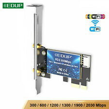 EDUP 300-2030Mbps PCI-E Wifi Bluetooth Card 82 N/AC Wireless Network Adapter