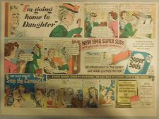 "Super Suds Ad: ""I Am Going Home To Daughter"" ! 1940's"