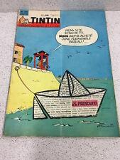 TINTIN  N°709 14e ANNEE 24 MAI 1962 REVUE MAGAZINE VINTAGE
