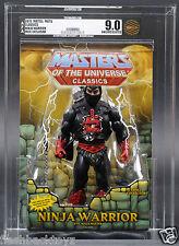2015 MOTU Ninjor Ninja Warrior AFA U9.0 Masters of the Universe Classics MOTUC