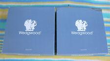 "TWO WEDGWOOD BLUE JASPER WARE PLATES ""SYDNEY COVE"" & P'LAND VASE"