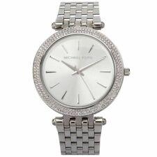 Michael Kors Darci Silver Dial Stainless Steel Quartz 39mm Ladies Watch MK3190