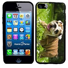 Happy English Bulldog Puppy For Iphone 6 Case Cover By Atomic Market