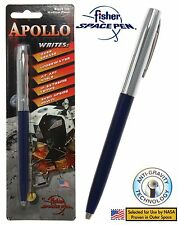 Fisher Space Pen #S251-BLUE / Apollo Series Pen in Blue & Chrome