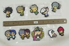 The Prince of Tennis Various Mixed Lot of Rubber Keychain strap /te78