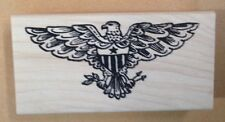 Wood Mounted Rubber Stamp, Patriotic Stamps, Eagles, American Eagle, 4th of July