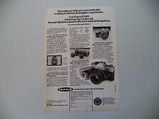 advertising Pubblicità 1974 FUJICA ST801 ST 801