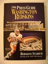 1996  REDSKINS PRESS MEDIA  GUIDE
