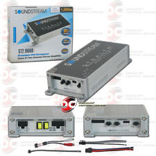 SOUNDSTREAM CLASS D 2-CHANNEL CAR AUDIO MOTORCYCLE COMPACT AMPLIFIER 1000W MAX