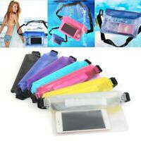 Waterproof Underwater Waist Bag Fanny Pack Swimming Beach Dry Pouch Case Cover