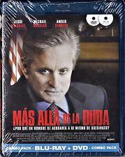 MÁS ALLÁ DE LA DUDA. combo BLU-RAY y DVD. Tarifa plana envío España, 5 €