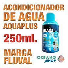 Acondicionador de Agua Aquaplus Fluval - 250ml gran calidad acuario gambario