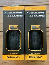 Continental Speed King CX folding tire Racing Tire 700x35C Pair 2 tires