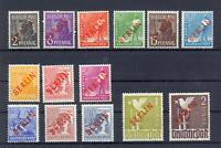 Berlin 21-34 Rotaufdruck postfrisch komplett (ts190)