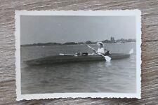 Foto Faltboot Sport Urlaub 1950-60er 50s 60s Freizeit Ausflug Faltboote ++++++++