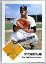 ELSTON HOWARD NEW YORK YANKEES 1963 FLEER STYLE CUSTOM MADE BASEBALL CARD BLANK