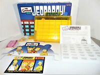 The Simpsons Edition Jeopardy! Board Game Complete