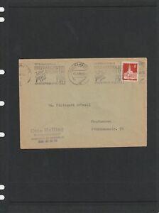 Germany 1959 Cover Inter Posta 1959 P/mark from Hamburg Ties 1 Stamp RARE!!!