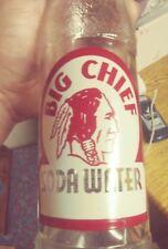 McAllen Texas Big Chief ACL soda bottle