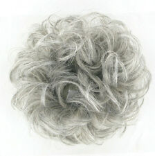 Crocchia chignon Coda di cavallo grigio 17/51 peruk
