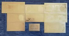 More details for gold iraqi bank notes. set of 8 with coa. 99.9% pure 24 carat gold.