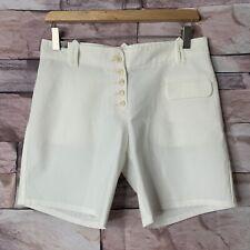 Cop. Copine Shorts, White, Size 38 EUC