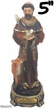 5 Inch Saint Francis of Assisi / San Francisco de Asis Religion & Spirituality