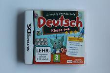 Nintendo DS 3DS Spiel Lernerfolg Grundschule Deutsch Klasse 1-4 Neue Version
