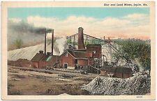 2 Views of Zinc and Lead Mines in Joplin MO Postcard Lot of 2