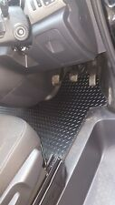 Vauxhall vivaro van (2014-date) new black rubber tailored car floor mats.