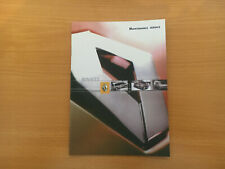 RENAULT SCENIC SERVICE BOOK NEW GENUINE NOT DUPLICATE CARS & VANS DCI DIESEL