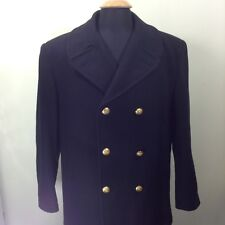 Sterlingwear Anchor Collection Peacoat w/ Gold Buttons SZ 46R Made in USA