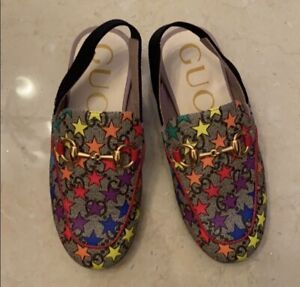Toddler Girl Gucci Mules Size 27