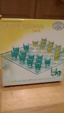 checkerboard shot glass set essentials for the bar handcrafted glassware