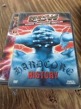 ECW - Hardcore History (DVD, 2001) WWE WWF-Authentic US Release Scratch Free