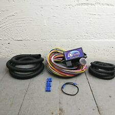 1974 - 1978 Ford II Mustang 8 Circuit Wire Harness fits painless compact fuse
