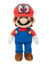 Super Mario Odyssey Plush Doll Stuffed Toy Mario 34cm w/ Tracking