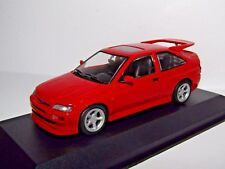 MAXICHAMPS FORD ESCORT RS COSWORTH 1992 RED 1/43