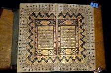 Antique ottoman Islamic illuminated  complete Quran manuscript 18th C