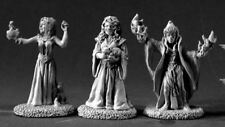 Reaper Miniatures Dark Heaven Legends 03375 DHL Classics: Female Wizards (3)