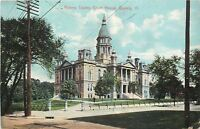 Quincy Illinois~Adams County Court House~Destroyed by Tornado 1945~1914 Postcard