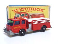Matchbox Lesney No.29c Fire Pumper Truck In Type E4 Series Box (NEAR MINT MODEL)