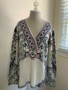 IVKO Multicolor Sweater Size XL NWT