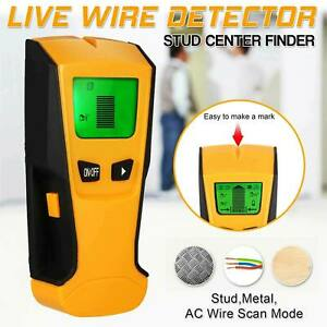Metal Wood StudsElectric Detector AC Voltage Live Wire Detect Wall Scanner