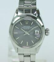 ROLEX Oyster Perpetual Lady Datejust Edelstahl automatic überholt